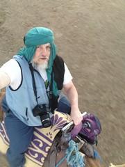 Selfie: riding the camel (John Englart (Takver)) Tags: morocco zagora cameltrek camels desert saharadesert selfie johnenglart