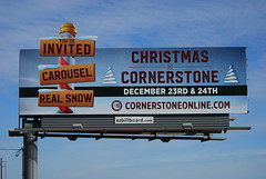 Cornerstone Church billboard - Santan Freeway Loop 202, Chandler, AZ (azbillboard) Tags: cornerstone cornerstonechristianfellowship cornerstonechandler church jesus jesuschrist god faith bible worship christmas christ christian chandler almaschool phoenix pima arizona ahwatukee az advertising billboard billboards grow children child marriage eastvalley freeway gilbert gilariverindiancommunity carousel snow i10 loop202 loop101 mesa maricopa outdooradvertising onsiteinsite outofhome ooh pricefreeway queencreek santanfreeway santan scottsdale tempe traffic 85226 101 202 85251 85143 85286 85224 85044 85048 85284 85296 85297 85249 85248 85295 85242 85240 85225 85283 kids
