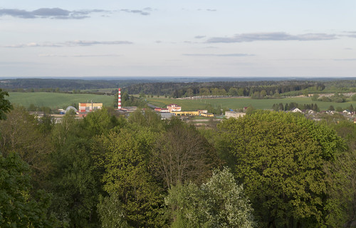 View to Navahrudak Ice-Cream Factory, 02.05.2014.