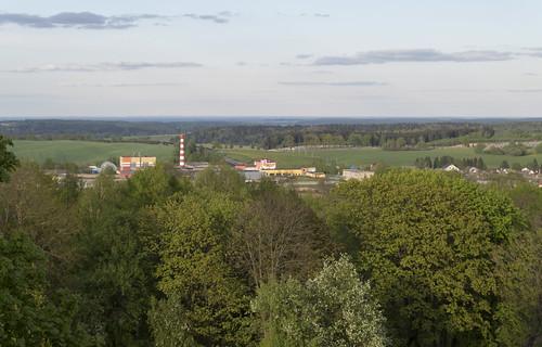 View to Navahrudak Ice-Cream Factory, 02.05.2014.