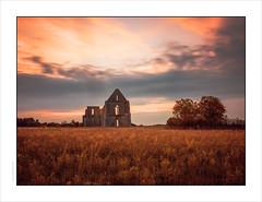 Dawn, Abbey Of Chateliers, Île de Ré (Gary Rowlands) Tags: leica s 35mmsummarits atlantiqueroadtrip bridge loirebridge îlederé charentmaritime abbey building religous