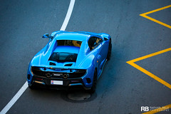 McLaren 675LT (Raphaël Belly Photography) Tags: rb raphaël monaco principality principauté mc montecarlo monte 98000 carlo hotel de paris french riviera south france luxury supercar supercars spotting car cars voiture automobile raphael belly canon eos 7d photographie photography casino mclaren 675lt 675 lt long tail blue bleu bleue