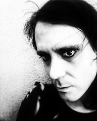 Thelema (Josu Sein) Tags: selfportrait portrait surrealism expressionism dark mystery cinematic monochrome blackandwhite instagram