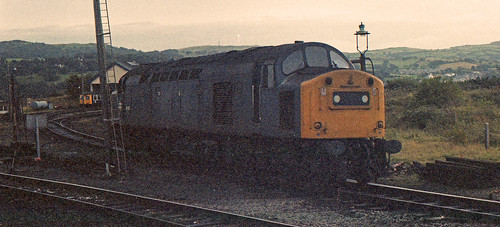 40197 Llandudno Junction 2nd October 1982.