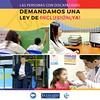 Cumplir los derechos de las personas con discapacidad es responsabilidad de todas las instituciones de servicio público