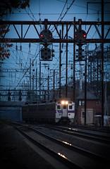 SEPTA - Newark, DE (ConnorShortPhotography) Tags: septa pa newark delaware de southeastern pennsylvania transportation authority amtrak north east corridor nec communter rail railroad dusk