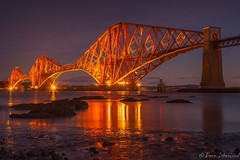 Sleeping Giant (buddsnax) Tags: forthbridge forthrailbridge scotland edinburgh unesco firthofforth unitedkingdom engineering train lowtide dawn gloaming victorian icon