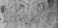 IMG_8597 (jaglazier) Tags: 103016 11thcentury 11thcenturyad 16thcentury 16thcenturyad 2016 adults animals bearded beards bonecarving christian coatsofarms copyright2016jamesaglazier countydublin crafts crosses crowns donabate drawing dublin griffins heraldry horses ireland irish kings mammals men museums music mythical nationalmuseum october religion rituals stgeorge armor art boars chainmail dancing dragons engraved incised inscriptions maltesecross plaques spears swords weapons whalebone