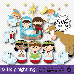 o-holy-night-svg-file (tashaclipartino) Tags: o holy night svg cutting file baby jesus clipart no background png jpg commercial use