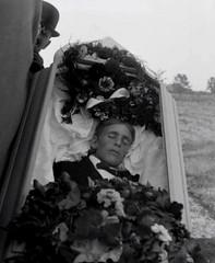 In Repose (~ Lone Wadi ~) Tags: coffin casket death corpse graveyard burialground outdoors unknown deceased postmortem