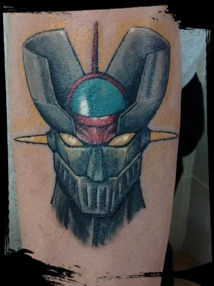 mazinger z denna sanchez tags mazingerz color tattoo tatuaje denna dennasanchez