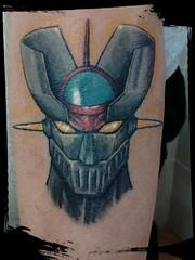 Mazinger Z (Denna Sánchez) Tags: mazingerz color tattoo tatuaje denna dennasanchez