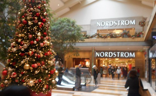 bellevue square mall decked for the holiday nordstrom bellevue wa