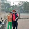 Xmas Party Tennis Court With Coach Surendra Pawar (firoze shakir photographerno1) Tags: xmasparty tenniscourt coachsurendrapawar