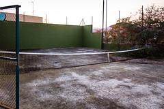 Abandoned house #6 (Ninusjka) Tags: abandoned tenniscourt