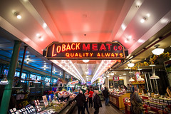 Quality Always (seango) Tags: usa pnw pacificnorthwest pacific northwest nikon d600 seango travel photography travels tourism getaway trip vacation 2016 october seattle washington wa pikeplacemarket pikemarket pike public market center neon lights 20mm wide angle f18 prime lens publicmarket