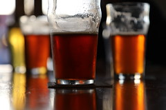 Happy Hour (lenswrangler) Tags: lenswrangler beer elevation66 flickrfriday happyhour elcerrito california sanpabloavenue beverage drink alcohol indoor food bar brewpub pub brewery glass restaurant