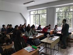 Lectures delivering on December 5th 2016 on Al Farabi Kazakh National University, Almaty