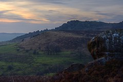 RoachesAtDusk (Tony Tooth) Tags: nikon d7100 nikkor 50mm f18g landscape dusk failinglight evening theroaches rocks moorland upperhulme peakdistrict staffs staffordshire