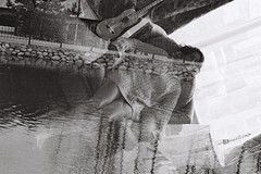 (Shota Kotake) Tags: nikon nikonu nikonn65 n65 filmcamera fujifilm fujineopan400 neopan neopan400 35mm 35mmfilm blackandwhite doubleexposure double exposure vilnius lithuania lietuva nowjapan loftas cosplay cosplayer portrait