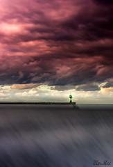 TRAVE Leuchturm (tim.lee Rookie Photograph) Tags: lbeck travemnde ostsee see sky lbecktravemnde ist ein stadtteil der hansestadt