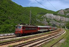 Lakatnik (Krali Mirko) Tags: bdz train locomotive electric skoda 68e3 44 127 44127 lakatnik bulgaria railway transport