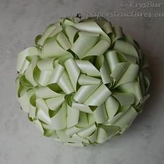Time (K16054) (Origami Spirals) Tags: curler paper fold twirl origami burczyk folding art krysbur