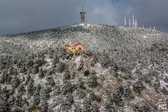Snow covered mount Parnitha (nikhrist) Tags: snow mountain parnitha nickchristodoulou trees attiki greece