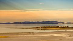Lady Finger ~Antelope (Karen McQuilkin) Tags: ladyfinger antelopeisland utah karenmcquilkin island water reflection november