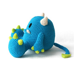 Mr. Blue monster amigurumi (DIY Fluffies) Tags: amigurumi crochet haken häklen diyfluffies diy crafts amigurumipatterns monster plushie softie design monsteramigurumi