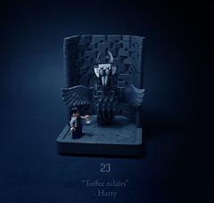 23 - Horcruxes (Melan-E) Tags: harry potter half blood prince gargoyle dumbledore office magical journey lego afol torolug toronto