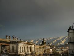 Sky after first spring storm over Tbilisi. 3/12/2016 (David Dondua) Tags: evening sky storm thunderstorm after mountians tbilisi georgia