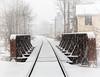 Snow Covered Bridge (brianloganphoto) Tags: morning historical bridge railroad landmark landcape warwickday newyork conditions christmas holiday snow warwick unitedstates us