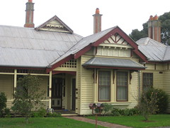 Derrinook  Corner of Gellibrand and Manifold Streets, Colac (raaen99) Tags: city chimney house building brick home architecture facade hospital architecturaldetail queenanne australia stainedglass victoria surgery artnouveau porch 1900 villa verandah nouveau residence 20thcentury stainedglasswindow edwardian gable colac halftimbered weatherboard 1900s redbrick jugendstil clad fretwork countryvictoria baywindow belleepoque domesticarchitecture twentiethcentury bellepoque architecturalfeature queenannestyle architectunknown queenannearchitecture gellibrandst edwardiana provincialvictoria privatehospital gellibrandstreet federationqueenanne fishscalepattern federationqueenannearchitecture artnouveaustainedglass architecturallydesigned derrinook artnouveaufretwork artnouveaustainedglasswindow federationqueenannestyle derrinookhouse derrinookprivatehospital manifoldstreet manifoldst doctorwilliamhenrybrown doctorwilliambrown