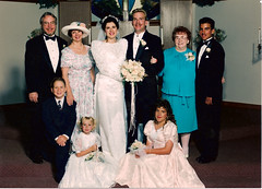 """Wedding - Dave and Cherie - all grandkids Tim, Linday, Steven, and Nicole • <a style=""""font-size:0.8em;"""" href=""""http://www.flickr.com/photos/42153737@N06/14387910269/"""" target=""""_blank"""">View on Flickr</a>"""