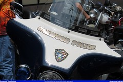 Oakwood Police Harley Davidson (Seluryar) Tags: ohio memorial village rally police harley motorcycle annual oakwood davidson 15th akron