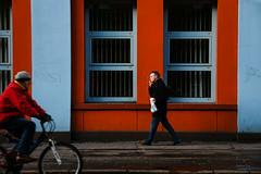 Untitled (@KelvinLiu) Tags: blue ireland red bike streetphotography smoker