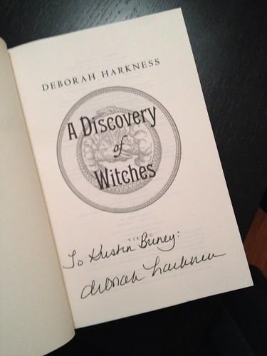 Deborah Harkness book fan photo