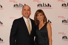 Board Member and Recipient of the Ackerman Corporate Partner Award Gregory Rogers and Natalie Morales