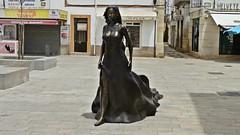 Floripes - Olho - Algarve (A. Pancinha) Tags: monumento algarve estatua largo olho lenda floripes olhanense pancinha