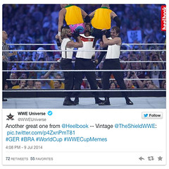 The WWE Universe Twitter guys show off their good taste in memes