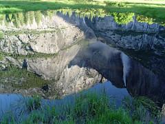 Yosemite Falls reflection (GMLSKIS) Tags: california reflection yosemitefalls nationalpark yosemite