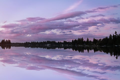 Lake Tapps (Andy Orozco ~) Tags: sky lake reflection washington pacificnorthwest magical tapps