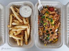 Barking Frog Fries and Soba Salad (gapey) Tags: food lunch fries redmond rtc foodtruck aioli barkingfrog sobasalad bfmk rtccampuseats
