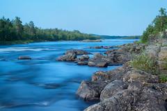 Ritakoski - Inari - Lapland (Tino Castelli [ www.castelliart.com ]) Tags: longexposure suomi finland river landscape day inari sunny clear filter lapland hitech formatt juutua 10stop nd1000 ritakoski
