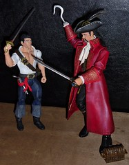 Prince Eric vs. Captain James Hook (MaxxieJames) Tags: toy eric doll little action ooak pirates prince disney pirate captain figure hook mermaid custom walt the
