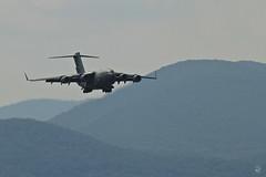 Big Boy II (konrad_photography) Tags: blue mountains airport ridge roanoke va valley globemaster ci17