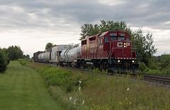 CP 3039 - SPY (railroadcndr) Tags: ontario train engine cp cpr gp382 gmd komoka cpwindsorsub cpmelrose cpspraytrain cp3039