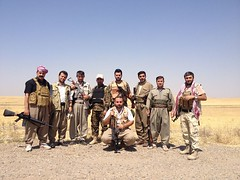 peshmerga forces in front-line (Kurdistan Photo ) Tags: against genocide frontline forces kurds  peshmerga