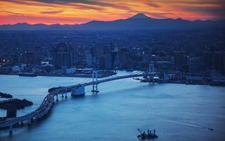 Rainbow Bridge Aerial View